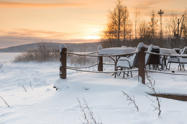 protect outdoor furniture during winter