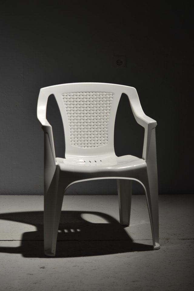 Plastic outdoor winter furniture