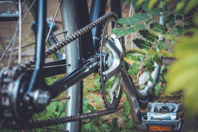 Prepare the bicycle chain for the winter