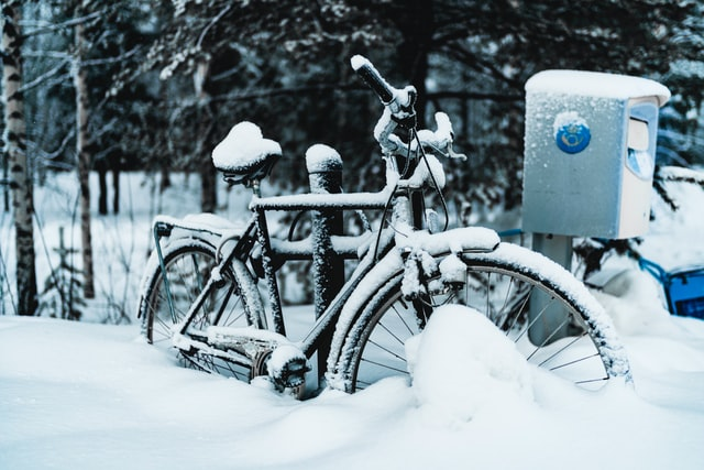 Winter check on the bike