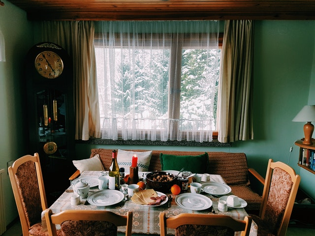 interior of your home for winter