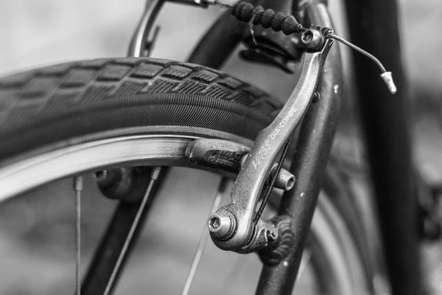 Winter check for the bike brakes