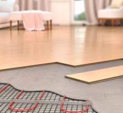 An overview of the costs of underfloor heating