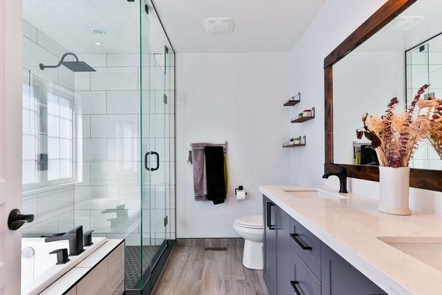 Beautify the bathroom