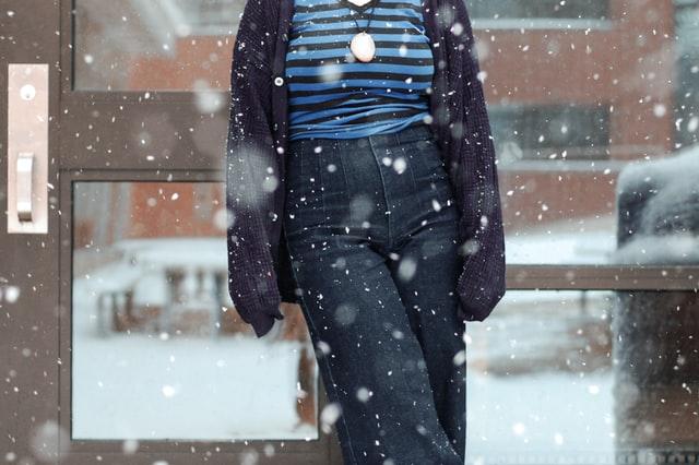 Dressing in winter